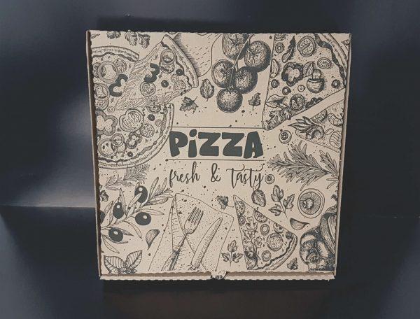 Cutii carton pizza imprimate