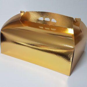 Cutie tort auriu