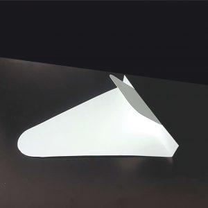 Coltar simplu alb neimprimat pentru clatite