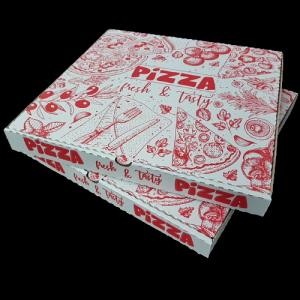 Cutie pizza imprimata